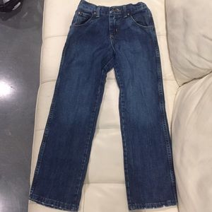 WRANGLER Boys Size 9-Retro Relaxed Straight Fit
